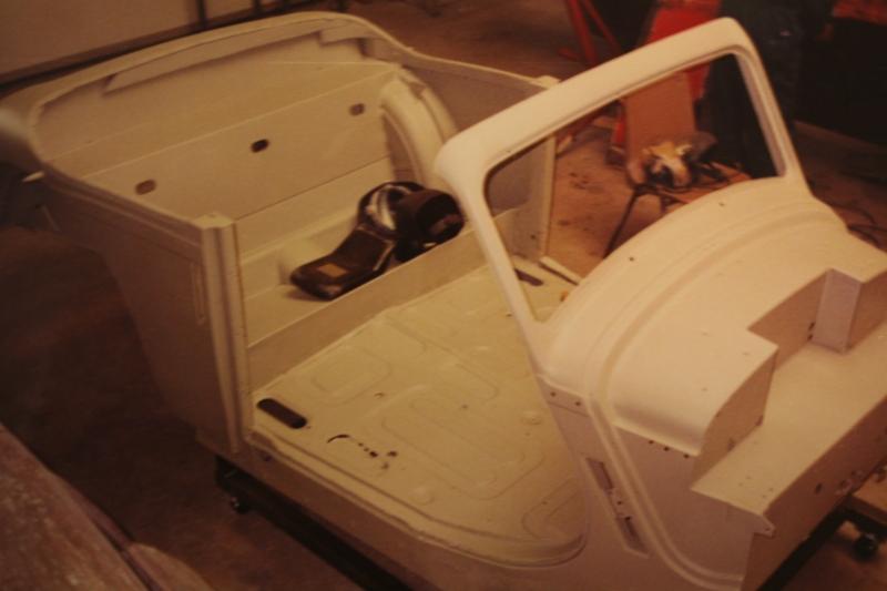 Restauratie Jaguar Mark v- drophead coupe