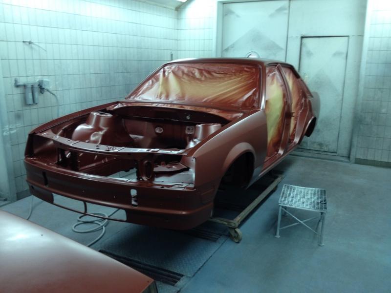 Restauratie Opel rekord 2.2