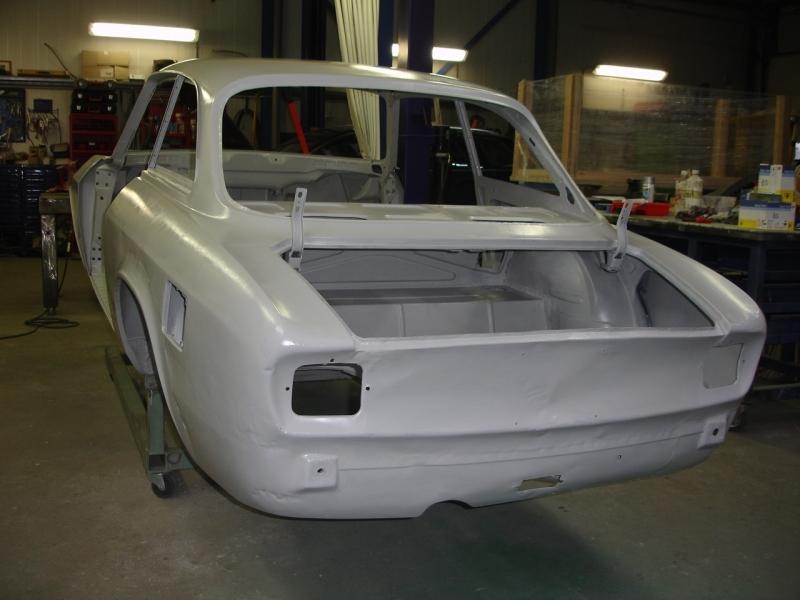 Restauratie Alfa Romeo GT
