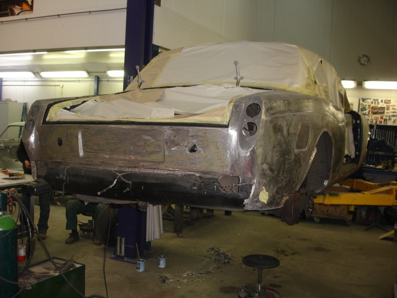 Restauratie Rolls Royce Cornish coupe