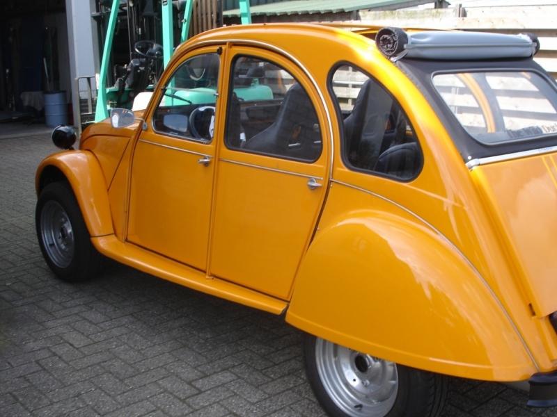 restautatie Citroën  2CV